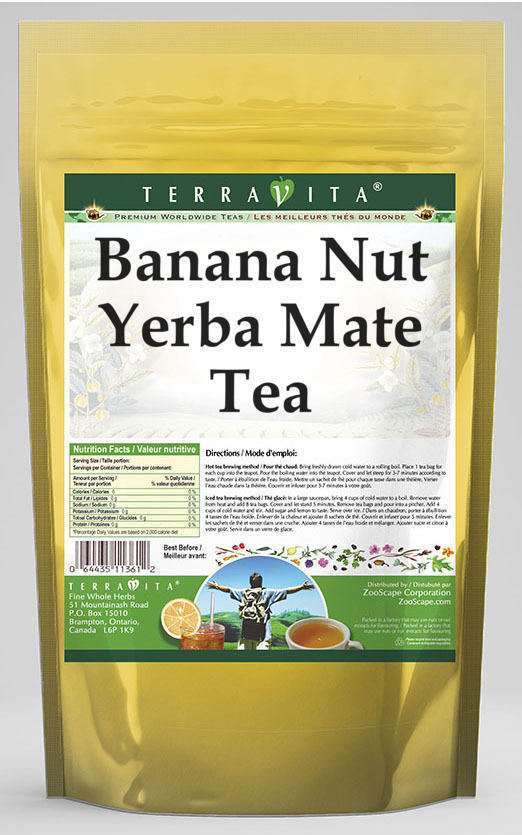 Banana Nut Yerba Mate Tea