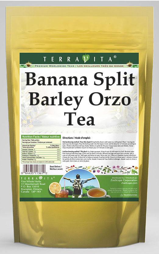 Banana Split Barley Orzo Tea