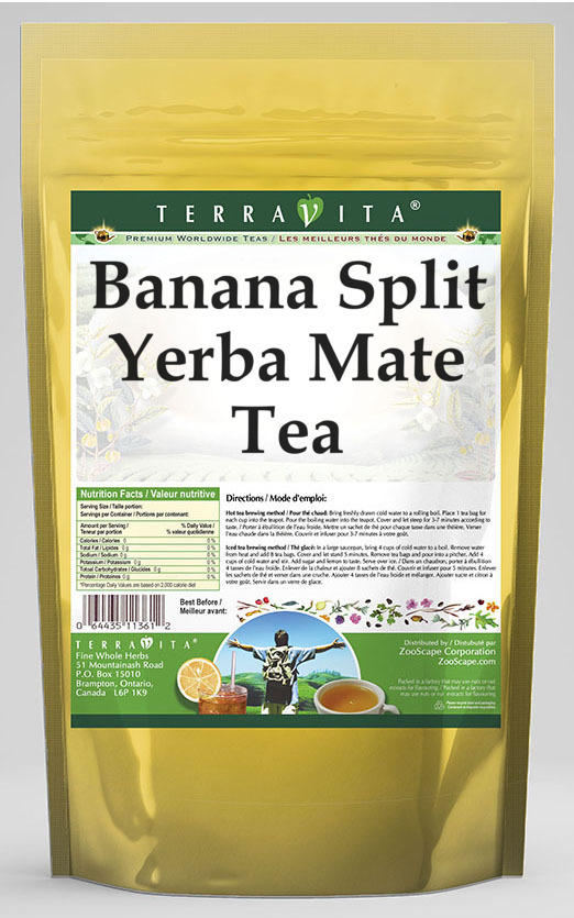 Banana Split Yerba Mate Tea