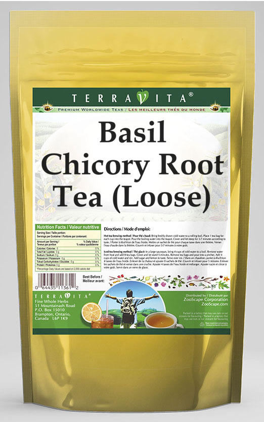 Basil Chicory Root Tea (Loose)