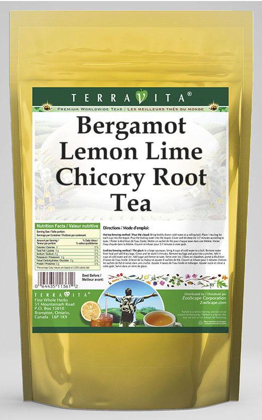 Bergamot Lemon Lime Chicory Root Tea