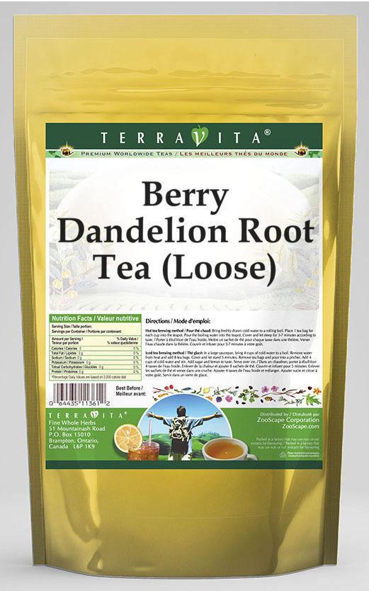 Berry Dandelion Root Tea (Loose)