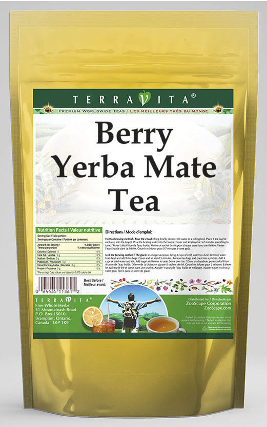 Berry Yerba Mate Tea