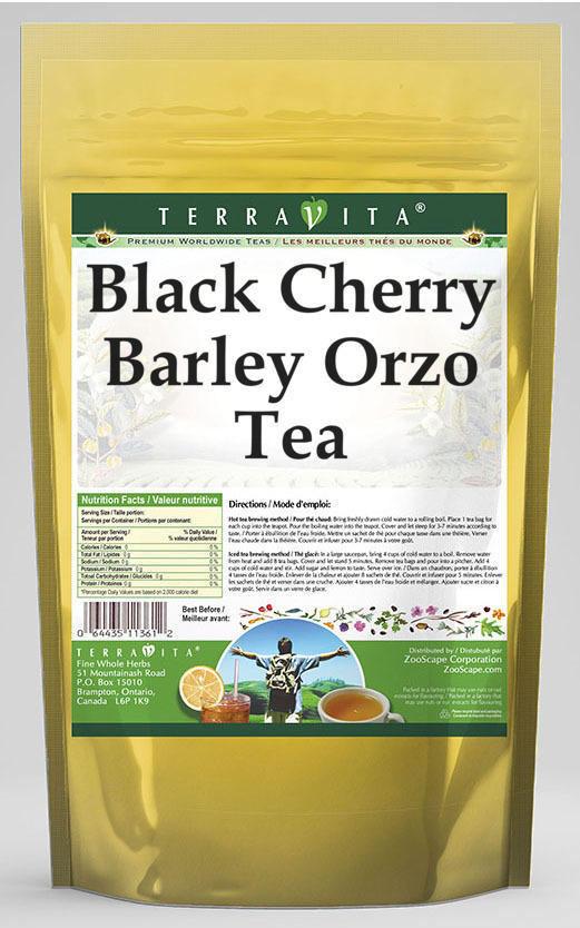 Black Cherry Barley Orzo Tea