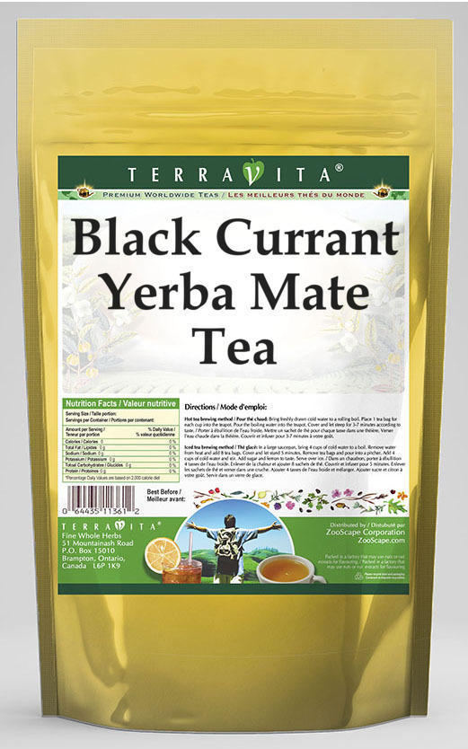 Black Currant Yerba Mate Tea