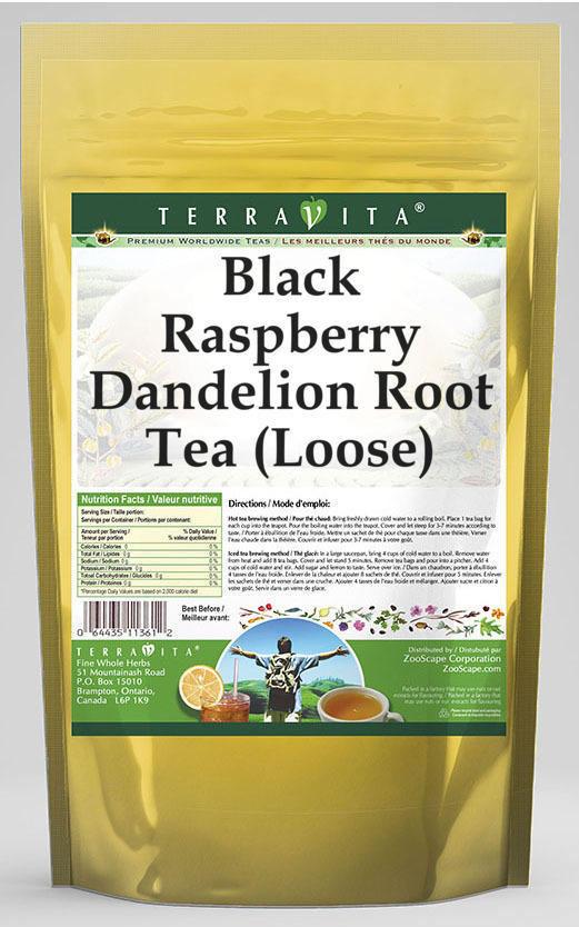 Black Raspberry Dandelion Root Tea (Loose)