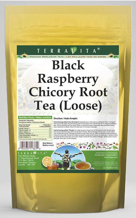 Black Raspberry Chicory Root Tea (Loose)