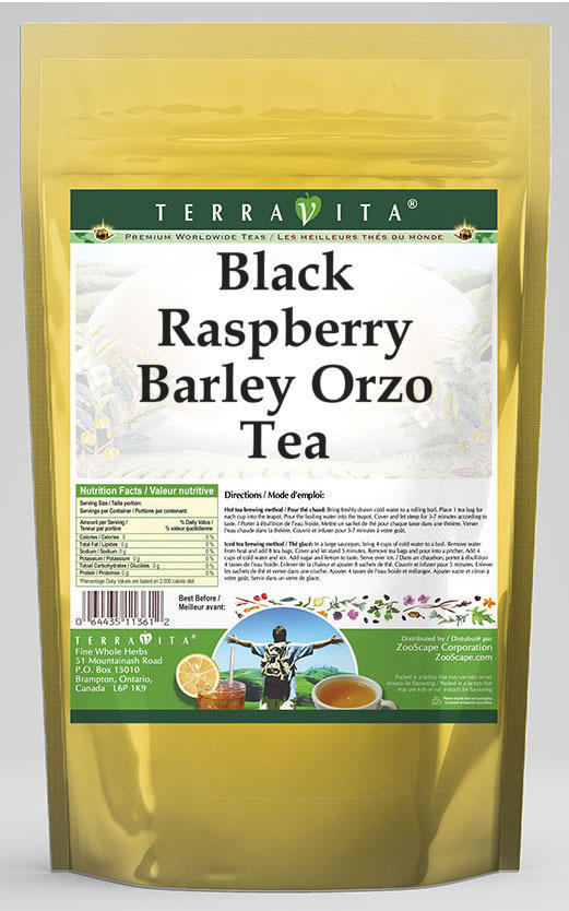 Black Raspberry Barley Orzo Tea