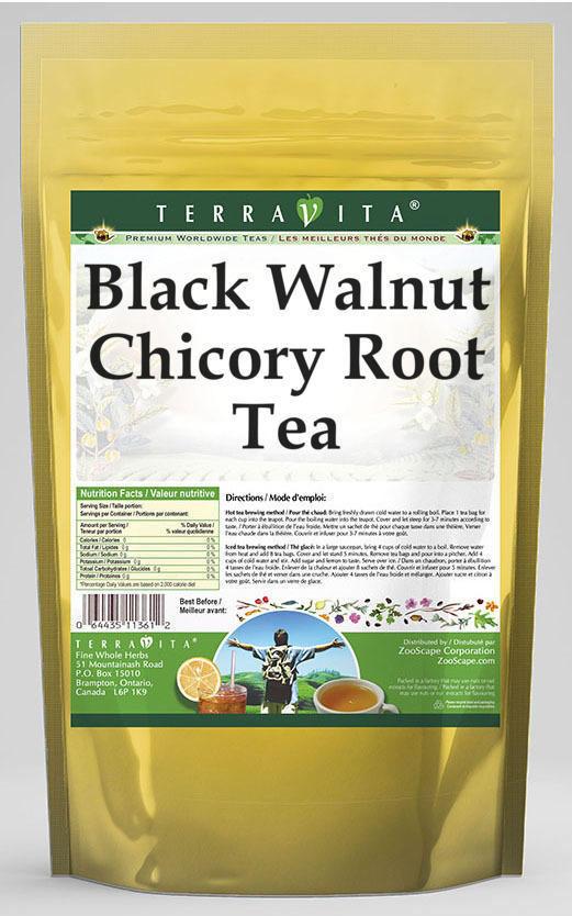 Black Walnut Chicory Root Tea