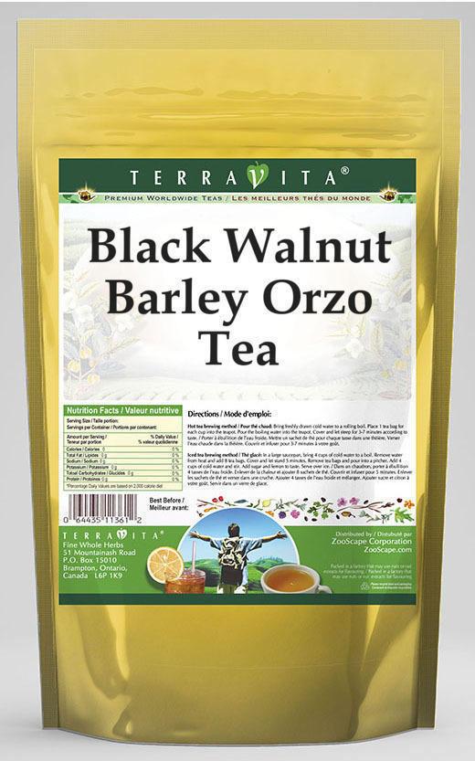 Black Walnut Barley Orzo Tea