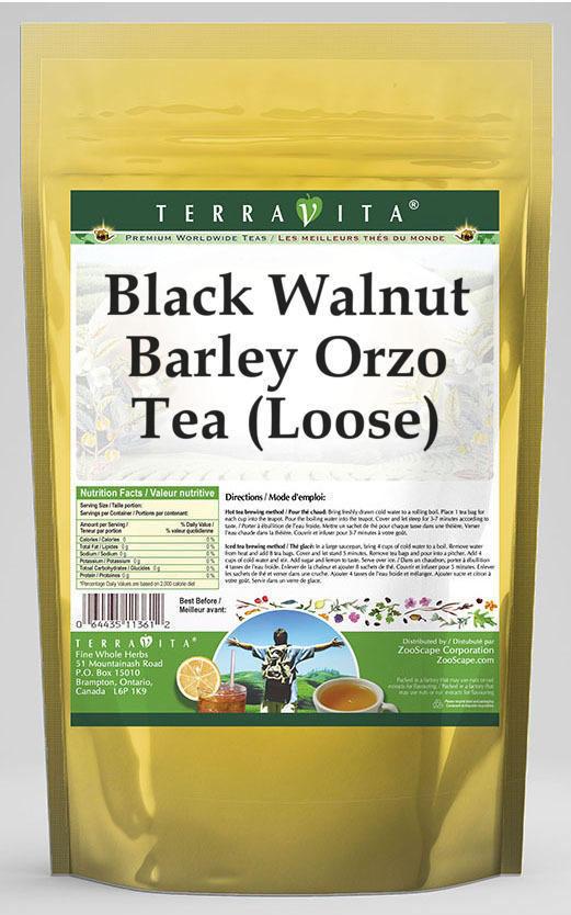 Black Walnut Barley Orzo Tea (Loose)
