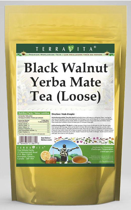 Black Walnut Yerba Mate Tea (Loose)