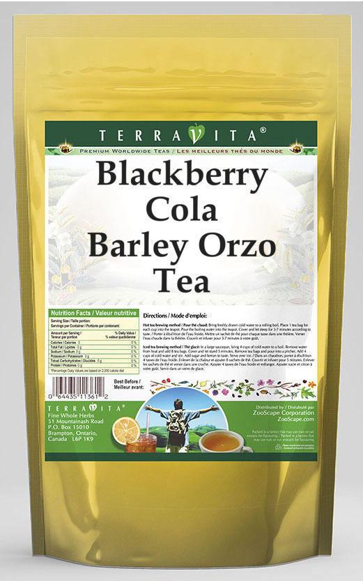 Blackberry Cola Barley Orzo Tea