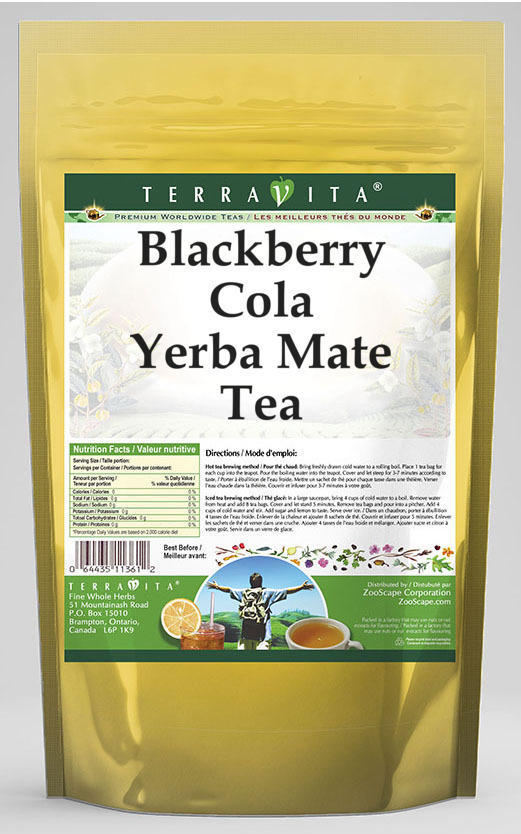 Blackberry Cola Yerba Mate Tea