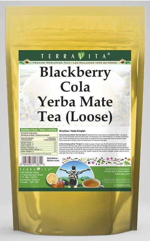 Blackberry Cola Yerba Mate Tea (Loose)