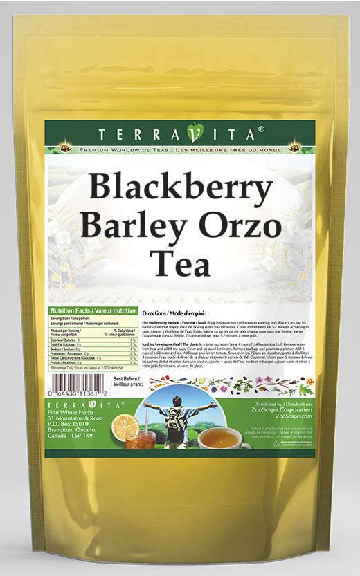 Blackberry Barley Orzo Tea