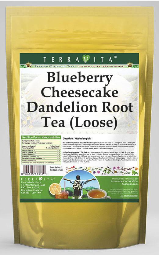 Blueberry Cheesecake Dandelion Root Tea (Loose)
