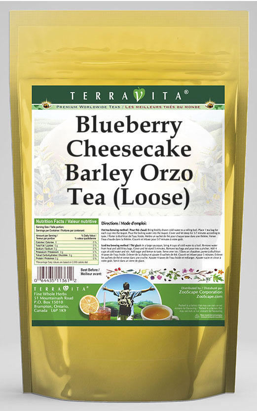 Blueberry Cheesecake Barley Orzo Tea (Loose)