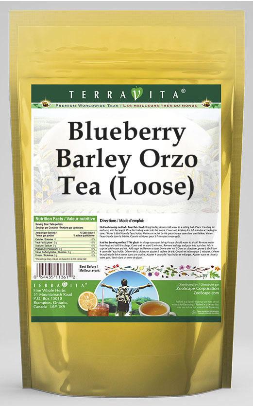 Blueberry Barley Orzo Tea (Loose)