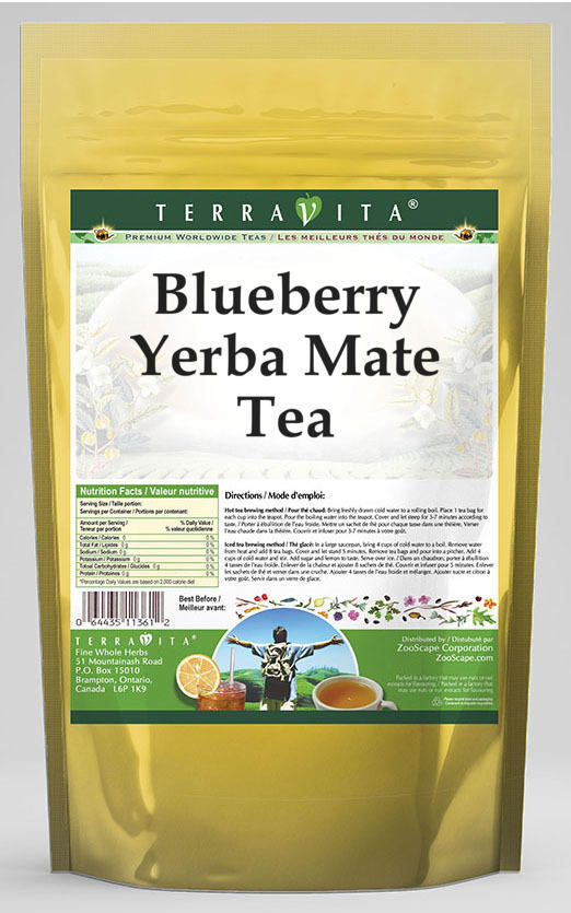 Blueberry Yerba Mate Tea