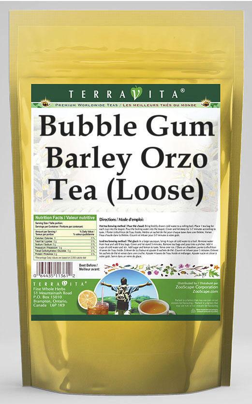 Bubble Gum Barley Orzo Tea (Loose)