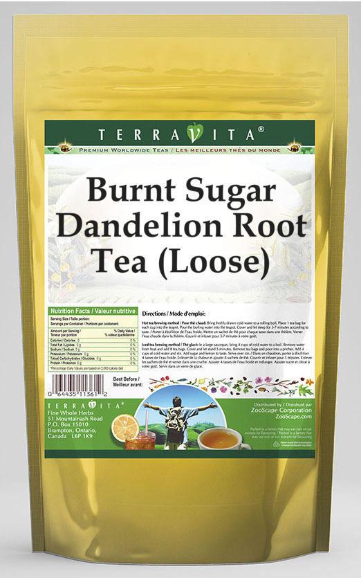 Burnt Sugar Dandelion Root Tea (Loose)