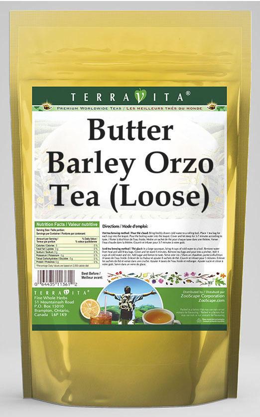 Butter Barley Orzo Tea (Loose)
