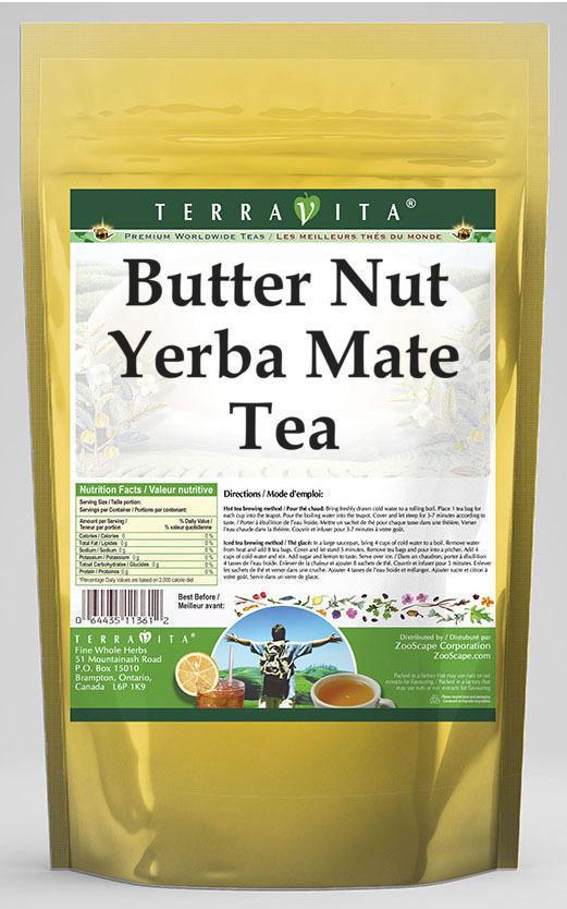 Butter Nut Yerba Mate Tea