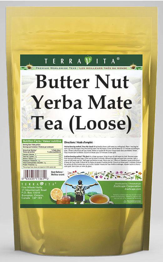 Butter Nut Yerba Mate Tea (Loose)