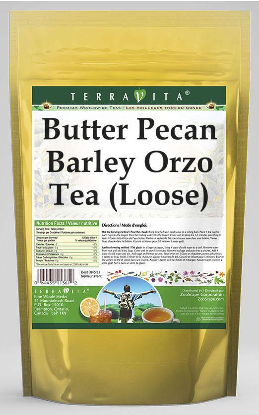 Butter Pecan Barley Orzo Tea (Loose)
