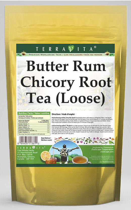 Butter Rum Chicory Root Tea (Loose)