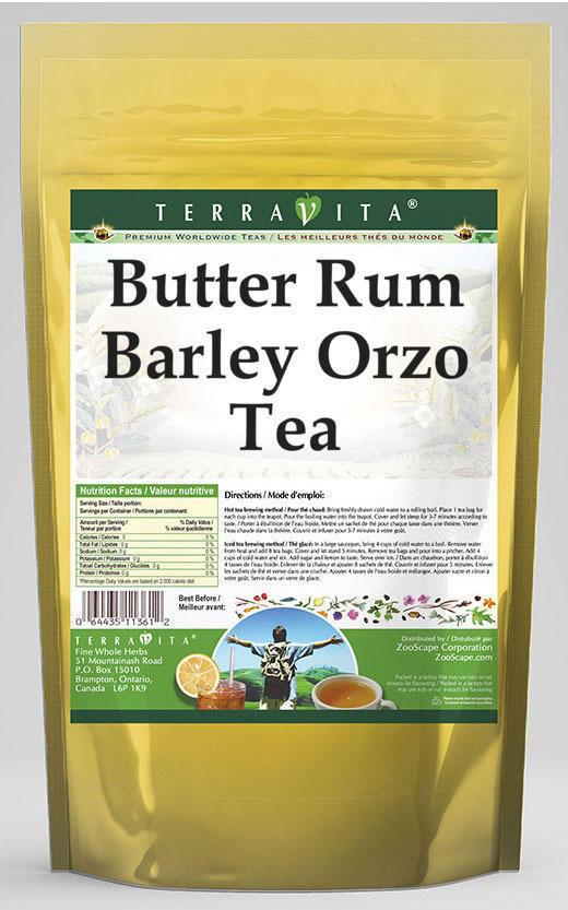 Butter Rum Barley Orzo Tea