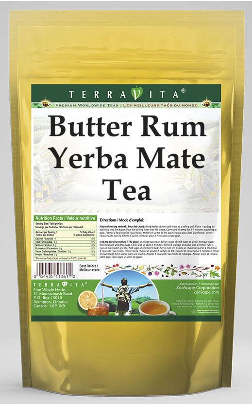 Butter Rum Yerba Mate Tea