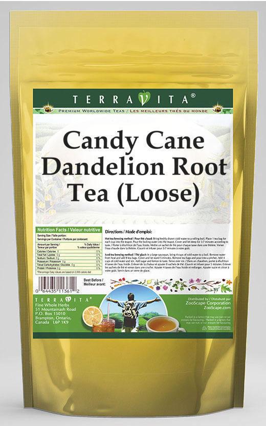 Candy Cane Dandelion Root Tea (Loose)