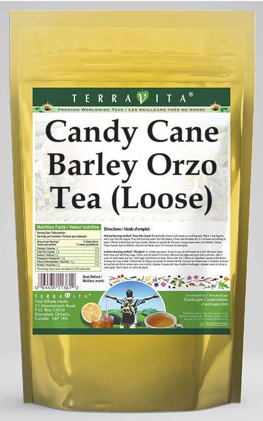 Candy Cane Barley Orzo Tea (Loose)