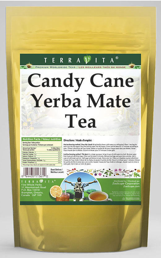 Candy Cane Yerba Mate Tea