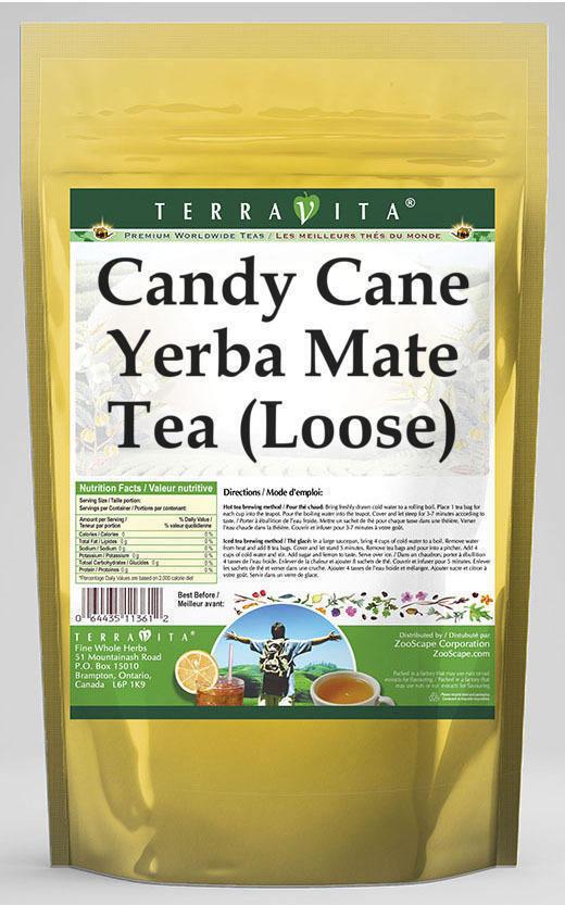 Candy Cane Yerba Mate Tea (Loose)