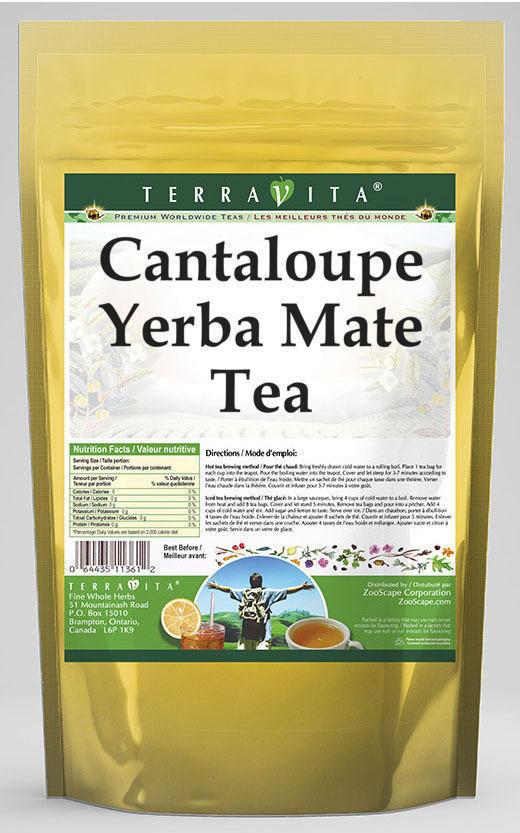 Cantaloupe Yerba Mate Tea