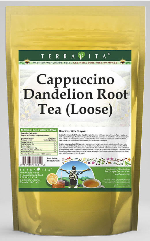 Cappuccino Dandelion Root Tea (Loose)