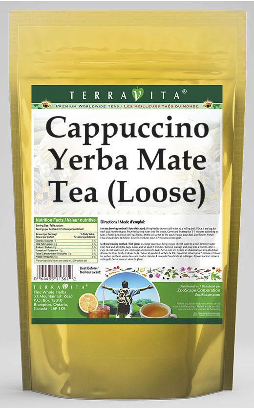 Cappuccino Yerba Mate Tea (Loose)