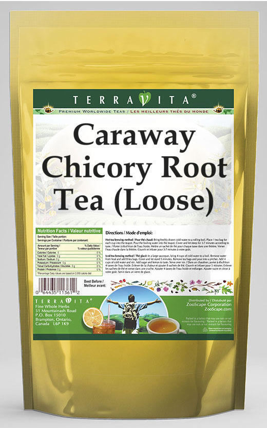 Caraway Chicory Root Tea (Loose)