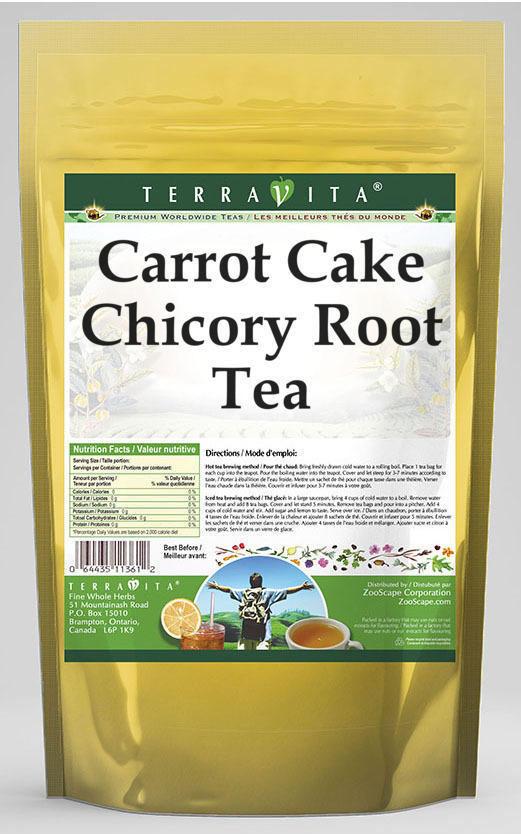 Carrot Cake Chicory Root Tea