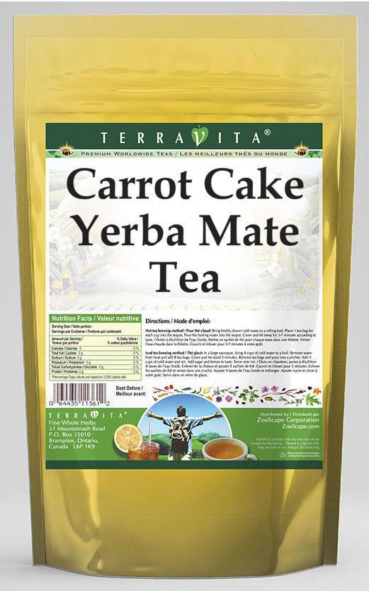 Carrot Cake Yerba Mate Tea