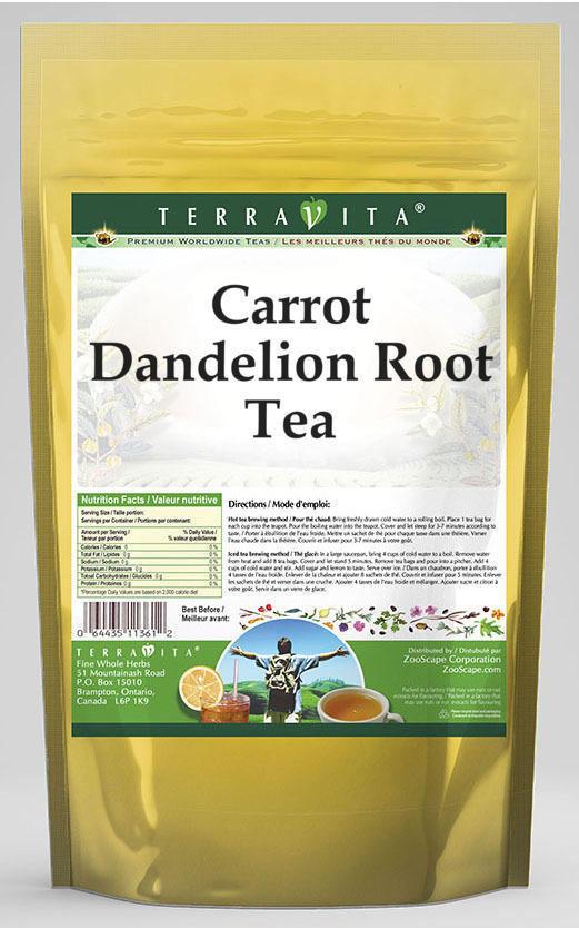 Carrot Dandelion Root Tea