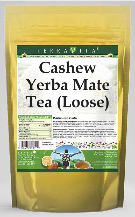 Cashew Yerba Mate Tea (Loose)