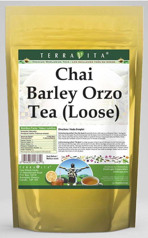 Chai Barley Orzo Tea (Loose)