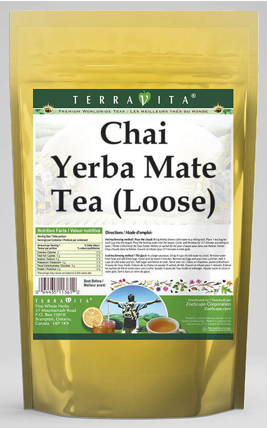 Chai Yerba Mate Tea (Loose)