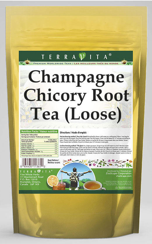 Champagne Chicory Root Tea (Loose)