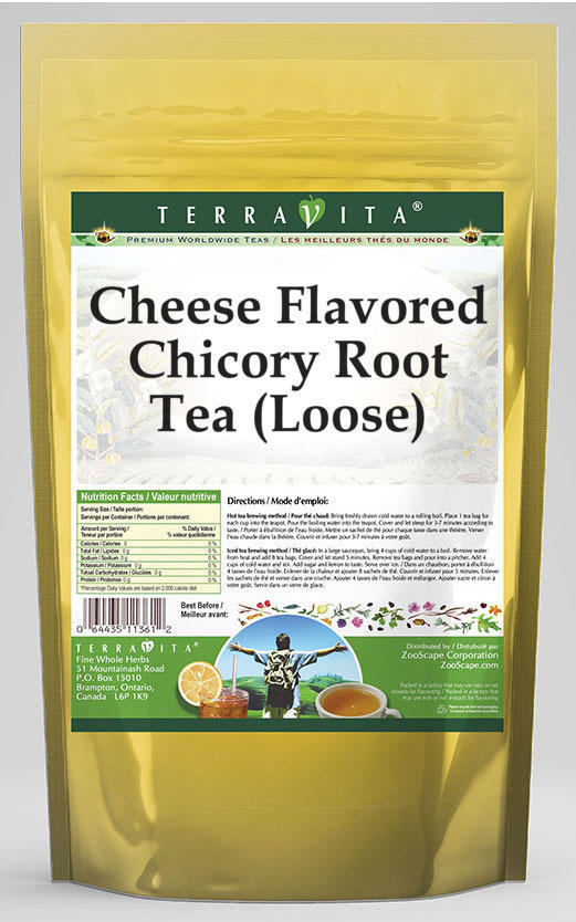 Cheese Flavored Chicory Root Tea (Loose)