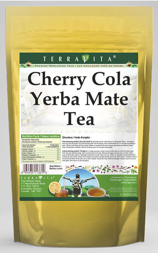 Cherry Cola Yerba Mate Tea